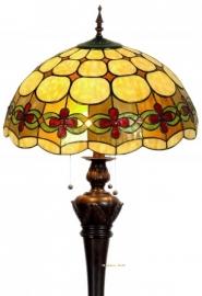 5427 9459 Vloerlamp Tiffany Ø50cm Victoria Bolling in de voet