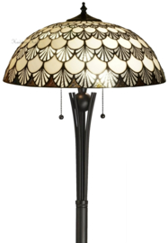 69360 Vloerlamp H158cm met Tiffany kap Ø50cm Missori