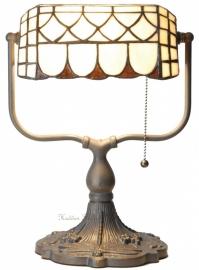 5729 Bankierslamp Tiffany H35cm