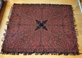Tafelkleed Paisley Desing 170x140cm Gobelin Geweven