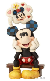 Mickey Thinking of You H17,5cm Jim Shore 6001281