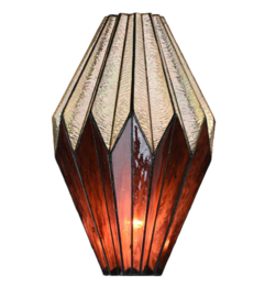 8158 Kap Tiffany H45cm Ø28cm Origami