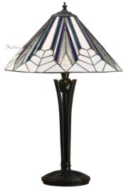 T026M  Tafellamp Tiffany H56cm Ø41cm Astoria