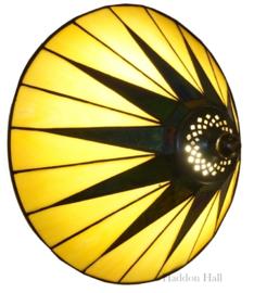 68440 Wandlamp Tiffany Ø30cm Dark Star