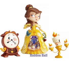 Set van 3 Miss Mindy beeldjes Belle - Cogsworth & Lumiere 4058887