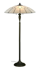 8106 DK1F Vloerlamp H158cm met Tiffany kap Ø60cm French Art Deco