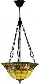 "5805 FCL Hanglamp Tiffany Ø40cm  ""Olive"""