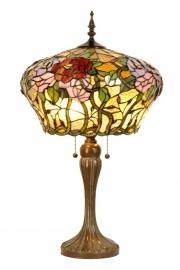 5571 Tafellamp Tiffany H72cm Ø40cm Rosamunde
