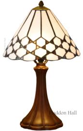 5893 5135 Tafellamp Tiffany H41cm Ø25cm Wilson