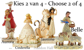 Set van 2 White Woodland Princesses - Kies 2 van 4  Jim Shore