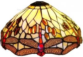 1100 Kap Tiffany Ø30cm Beige Dragonfly