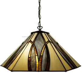 7856 Hanglamp Tiffany Ø50cm Round & Square