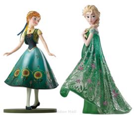 Frozen ANNA & ELSA Forever Set van 2 Figurines Showcase Disney