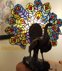 "5619 Tiffany lamp H39cm ""Pauw"""