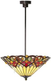 COT07 Hanglamp Tiffany Ø42cm Sydän