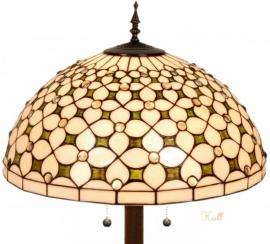 5300 9454 Vloerlamp Tiffany Ø50cm Jewel Ronde voet