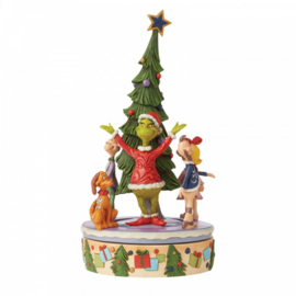 Grinch Rotator Figurine -H25,5cm-  Jim Shore 6008885