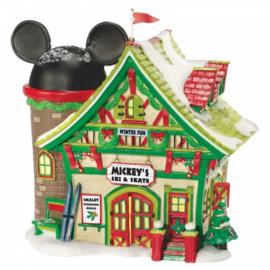 Mickey's Sky & Skate H16,5cm Village by D56 A30090