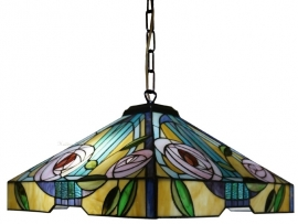 "TG106L-98 Hanglamp Mackintosh 44x44cm  ""Willow"""
