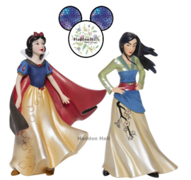 Couture de Force - Set van 2 bee;den - Snow White & Mulan