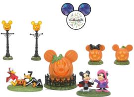 Pumpkintown Set van 5 beelden - Disney Village by D56