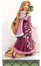 Rapunzel Christmas H18cm - Jim Shore 6008981