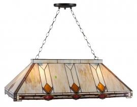 5472 Hanglamp Tiffany B92cm Laatste exemplaar!
