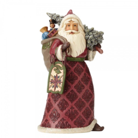 Dreaming of Christmas Past H24 cm Jim Shore Victorian Santa Kerstman 4058751