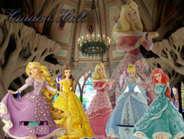 Treasure Keepers Set van 5  Prinsessen  H18cm Jim Shore
