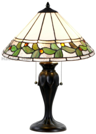 5878 Tafellamp Tiffany H58cm Ø42cm Herba