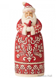 "Nordic Noel Santa ""Tis The Season To Sing H27cm Jim Shore 6004227"