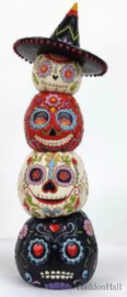Day of The Dead Stacked Pumpkins H20,5cm - Jim Shore 6009509