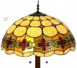 5427 9454 Vloerlamp Tiffany Ø50cm Victoria Ronde voet