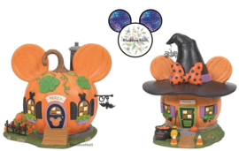 Mickey & Minnie's Pumpkintown Houses - Set van 2 - D56