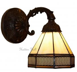 5819 8829 Wandlamp met Tiffany kap Ø18cm Wall Deco