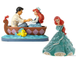 Ariel - Set van 2 beelden - Ariel &Prince en Ariel Treasure Keeper