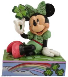 Minnie St. Patrick H9cm Jim Shore 6010109