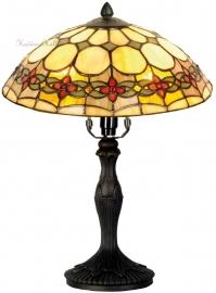 5355 9034 Tafellamp Tiffany H37cm Ø30cm Victoria