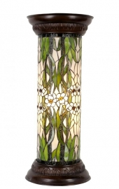 5539 Tiffany zuil H77cm Ø32cm  Rond