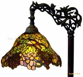 789 9458 Vloerlamp H164cm met Tiffany kap Ø30cm Wineyard