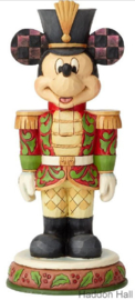 "MICKEY  ""Stalwart Soldier"" Nutcracker H18cm Jim Shore 6000946"