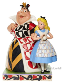 Alice & Queen of Hearts H20,5cm Jim Shore  6008069