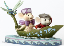 "BERNARD & BIANCA ""To the Rescue"" H 14cm Jim Shore 4055405  Reddertjes"