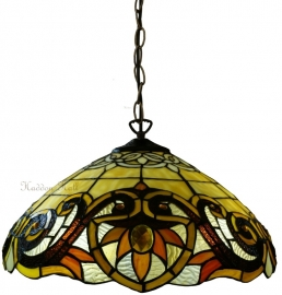 5777 97 Hanglamp Tiffany Ø42cm Pendragon