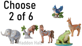 Mini Animals - Kies 2 van 6 - H9cm - Jim Shore
