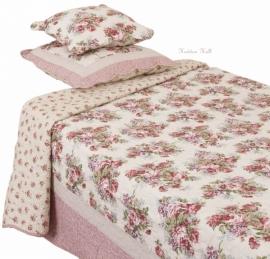 Q118 Clayre & Eef Bedsprei 230 x 260 cm Quilt Patchwork