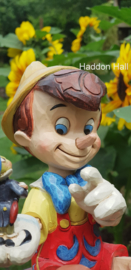 PINOCCHIO Just Give a Little Whistle H19cm Jim Shore 4043647 Pinokkio uit 2015