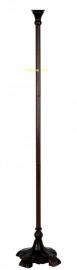 5495 Voet Vloerlamp H164cm Uplicht - Bruin