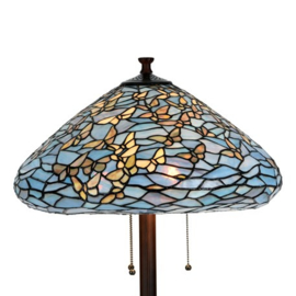 7860 Vloerlamp H160cm met Tiffany kap Ø50cm Fly Away