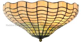 5974 80 Plafonniere Tiffany Ø40cm 2xE27 Shell